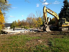 Photo of Demolishing a Residential House in Burlington