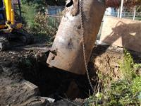 Photo of Underground Tank Removal (During)