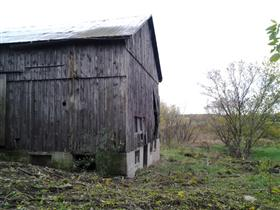 Photo of Demolition of a 100 Year Old Barn (Before)