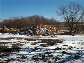 Photo of Demolition of a 100 Year Old Barn (After)