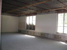 Photo of Interior Gutting of School Classroom (After)