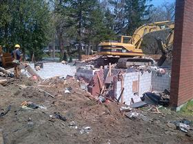 Photo of Residential Demolition in Mississauga