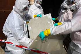Photo of Asbestos removal in Kitchener
