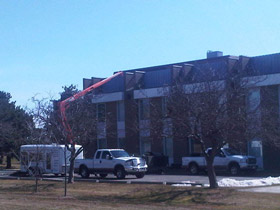 Photo of a Roof Top Demolition in Brantford